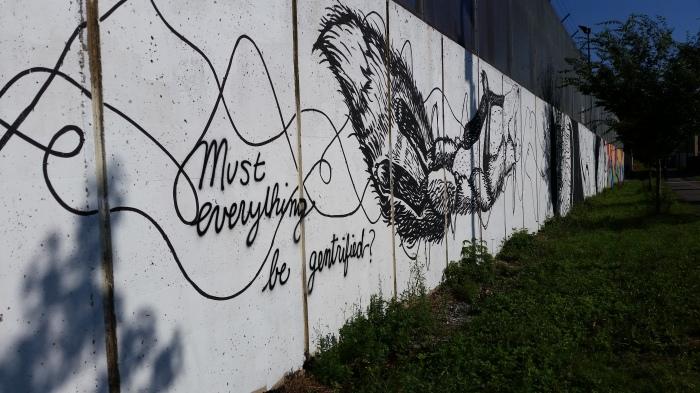 Mural-Gentrified